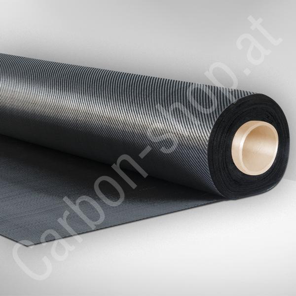 Carbongeweb 245 g//qm Köper Kohlefaser CFK  /> 2 /< Meter auf Rolle NUR 30 cm Breit